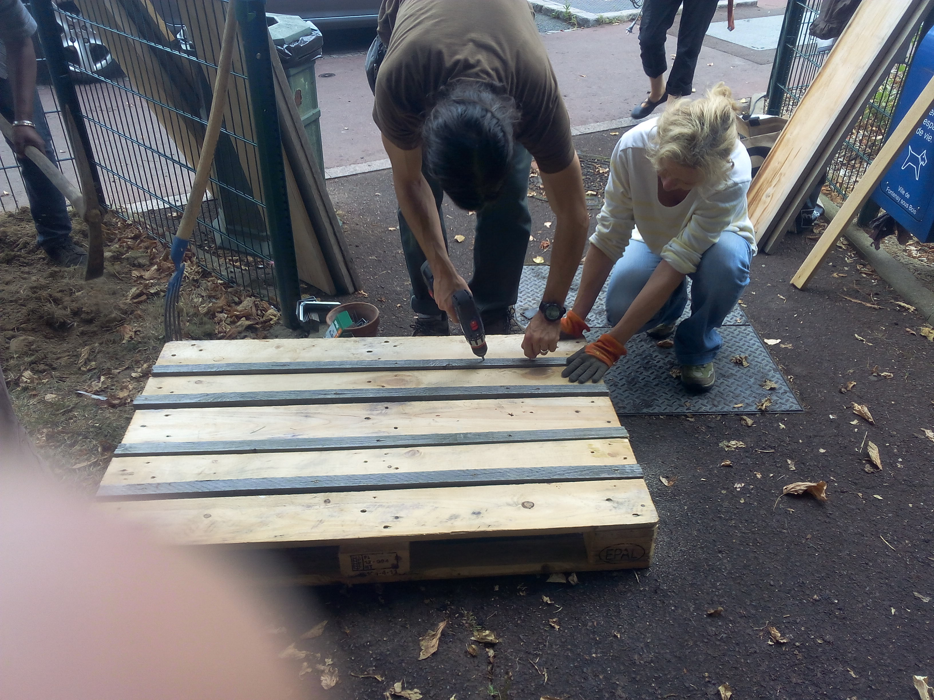 Construire et installer un bac à compost
