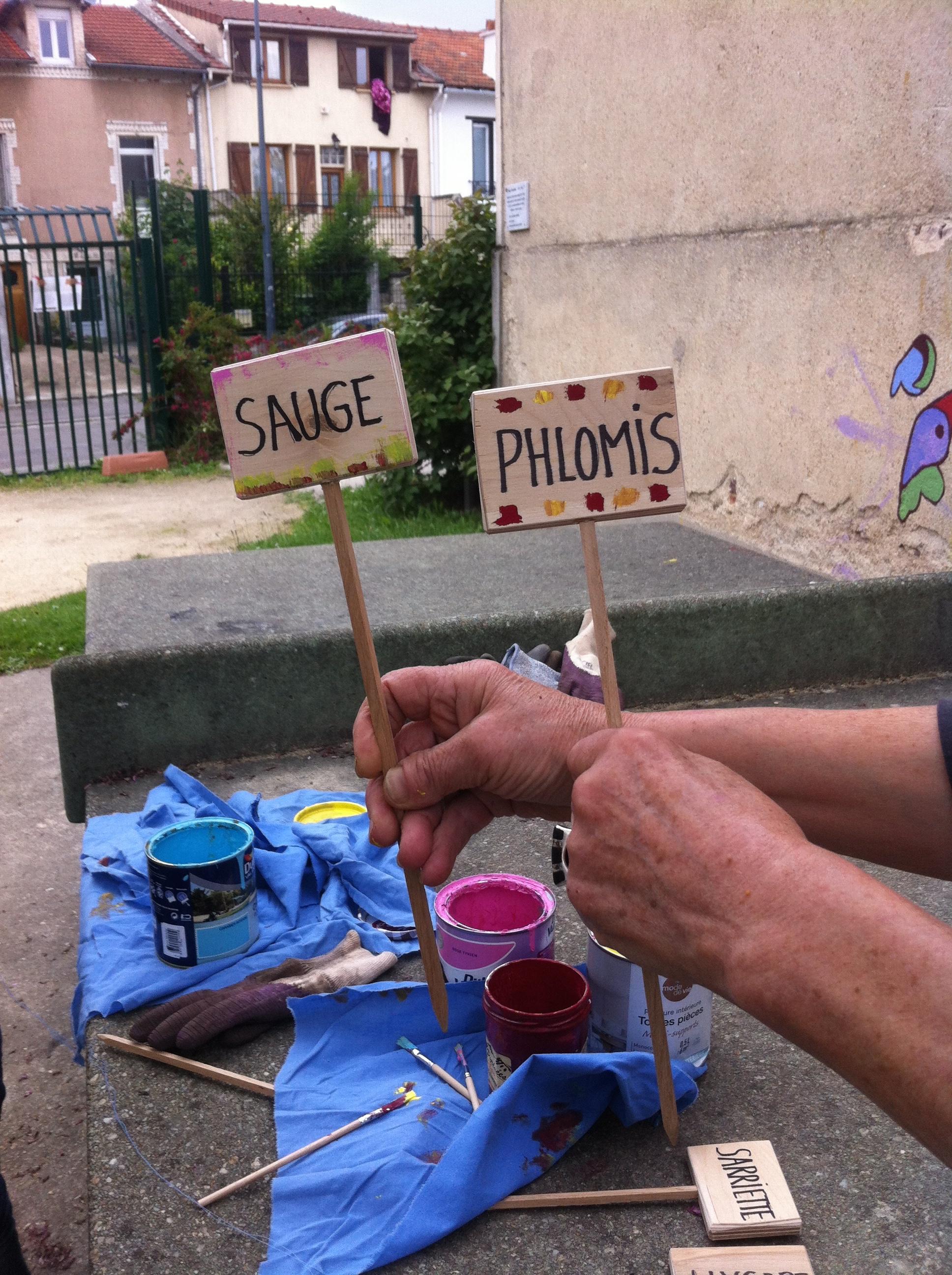 Jardinage de printemps au square Beaudoin