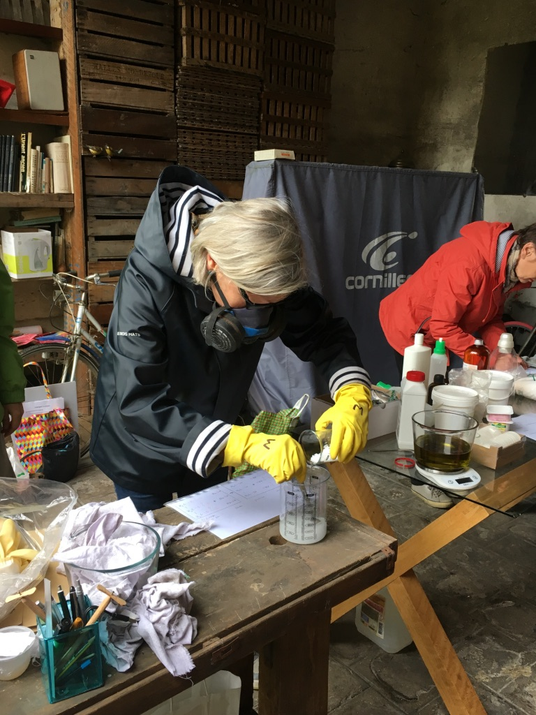 Atelier fabrication de savons